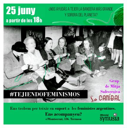 #TejiendoFeminismos (2a trobada)