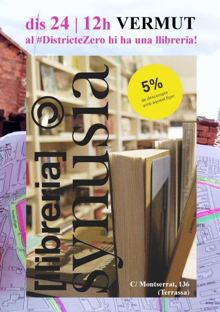 [Vermut] Al #DistricteZero hi ha una llibreria!