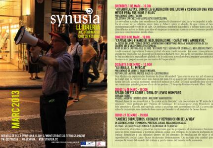 programacio de març 2013 synusia