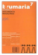 Brumaria 7. Arte, máquinas, trabajo
